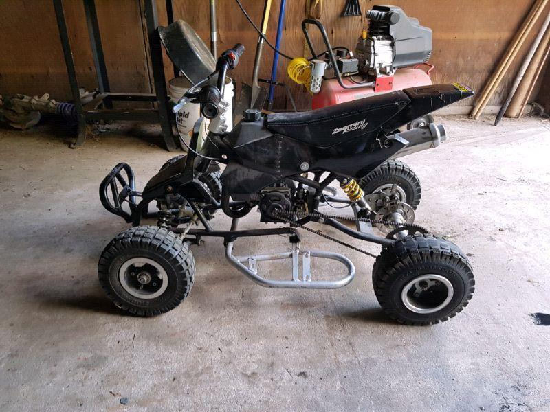 50cc pocket quad