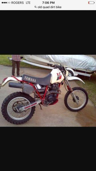 Wanted: Looking for an old quad or dirt bike!