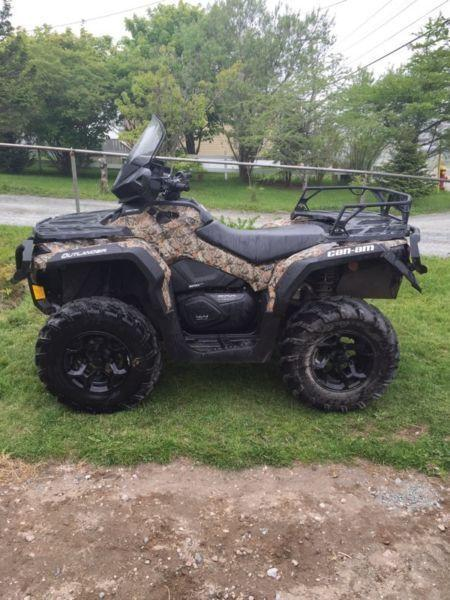For sale 2015 can am 500 XT