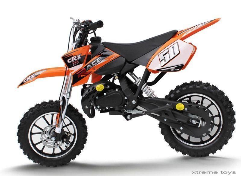 Wanted: ISO 50 cc dirt bike