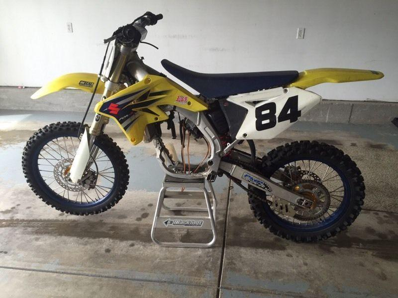 2007 Suzuki RMZ 250 (blown engine)