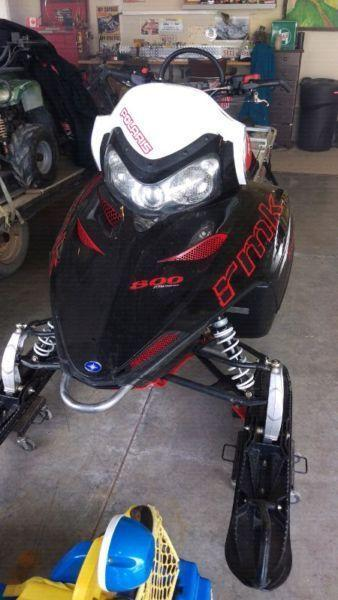 2009 Polaris 800rmk for sale or trade for Ford Mustang