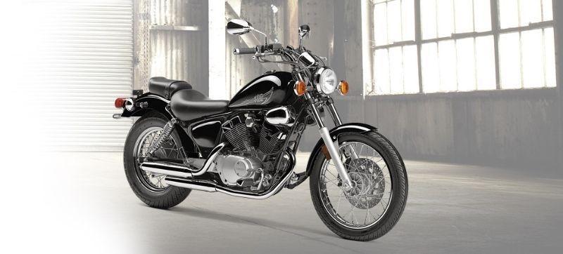 Yamaha 250 v twin brick7 motorcycle for Yamaha cruiser 250
