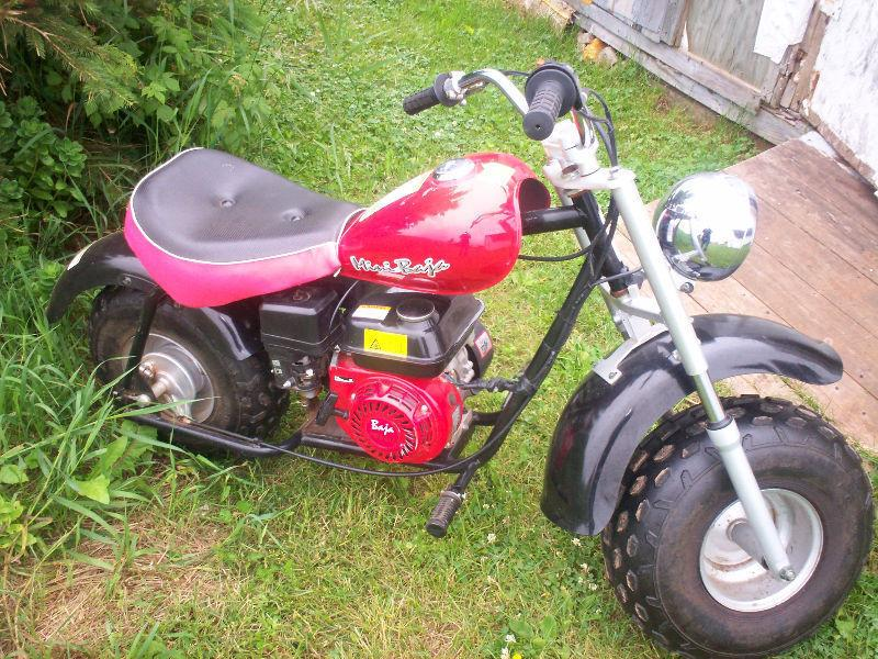 baja mini bike
