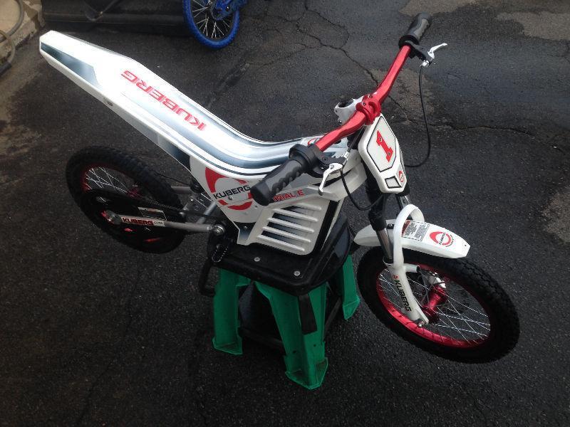 Kuberg E-trail Kids Electric Motorcycle Dirt bike PW SX 50