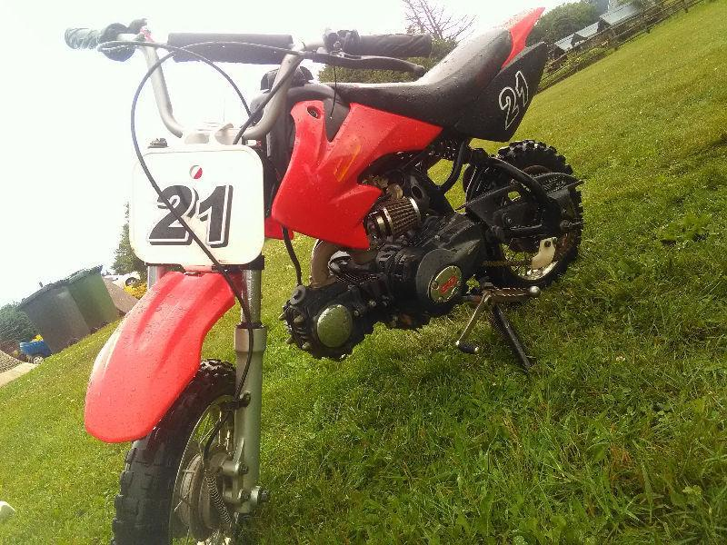 Gio Dirt Bike with complete other parts bike