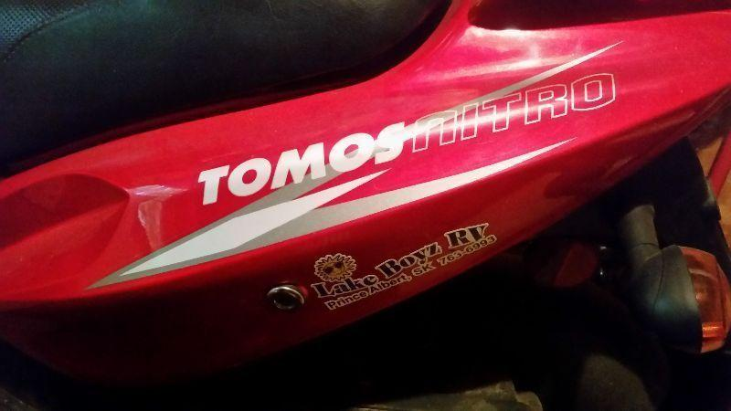 FOR SALE:SCOOTER:TOMOS-2008.PRICE:800$.URGENT