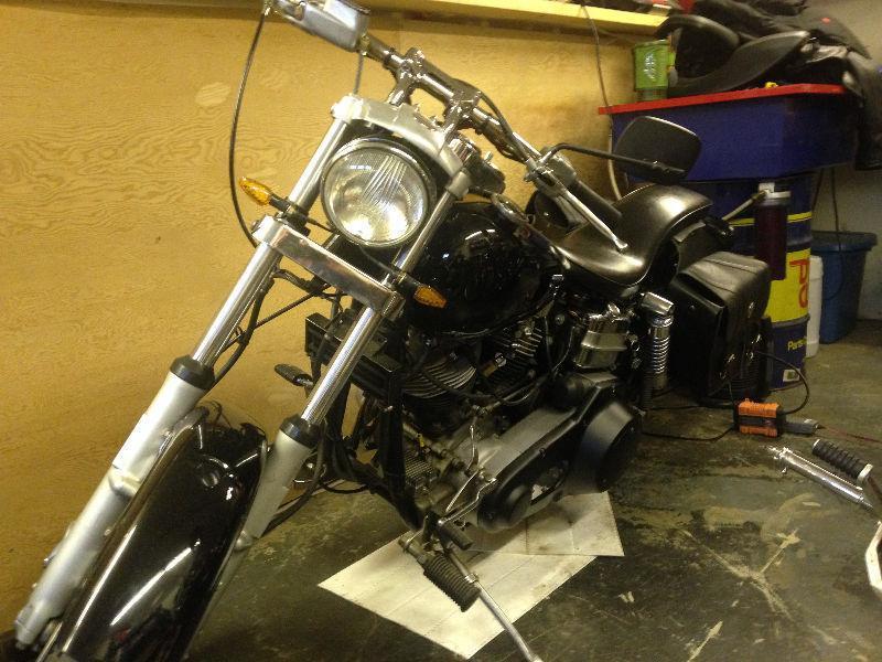 Old School Shovelhead - Brick7 Motorcycle