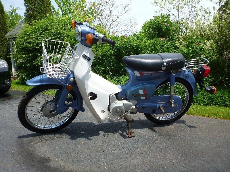 honda c70 passport scooter brick7 motorcycle. Black Bedroom Furniture Sets. Home Design Ideas