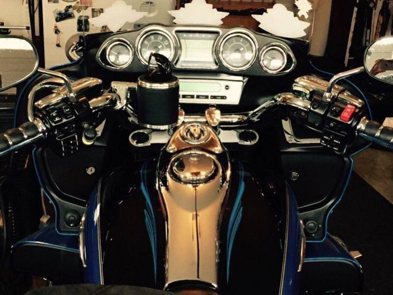 2009 Vulcan Voyager 1700 Motorcycle with Trigg Trike Kit