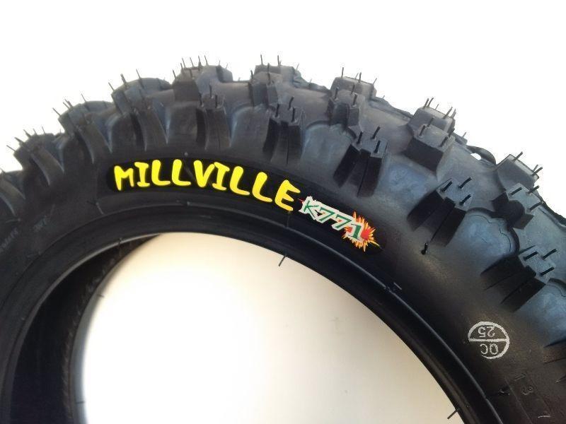 Kenda Millville Tires CRF50 Pit Bike 70/100-10 2.75-10 80/100-10