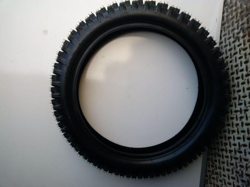 New 110/90-18 Super Knobby Rear Dirt Bike Tire King Racing 250cc