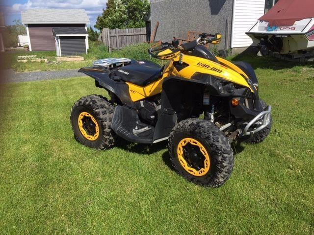 For Sale - 2008 Renegade 800 xc R 4x4