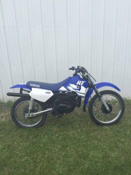 yamaha rt 100 2 stroke brick7 motorcycle
