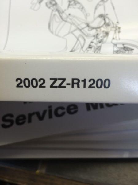 OEM Kawasaki zz-r 1200 service manual