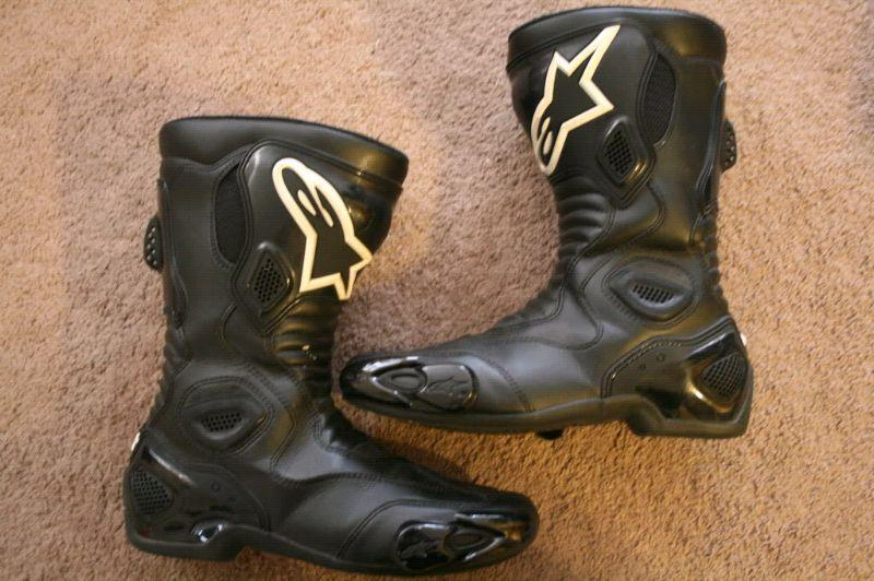 Alpinestars SMX 5 Boots size 9