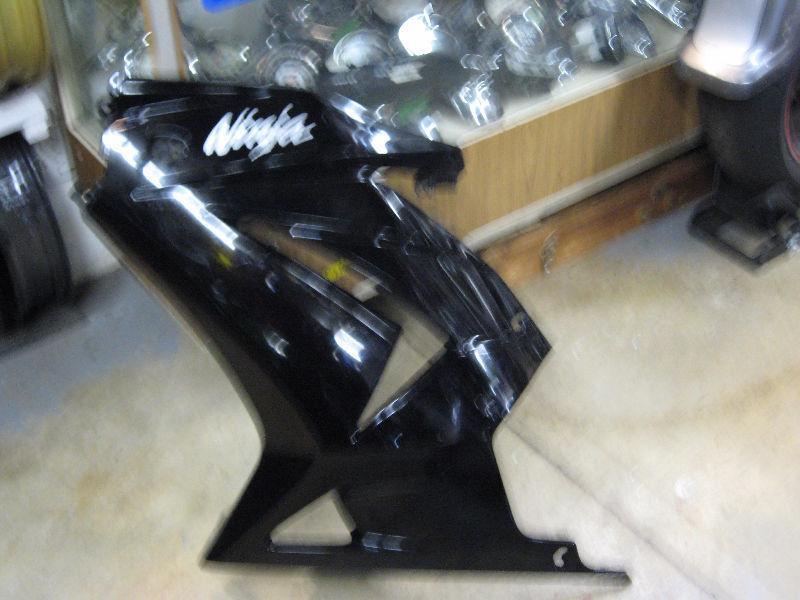 2009-2012 kawasaki 250 ninja l.s. fairing o.e.m