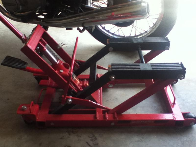 Motorcycle Jack and Rear Stand