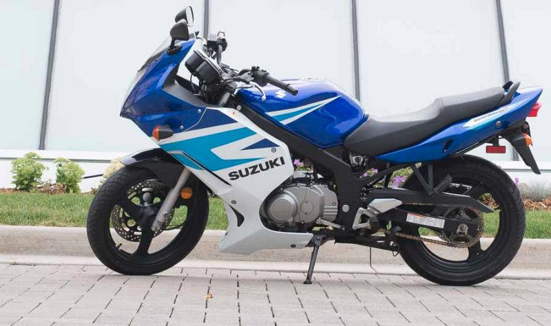 2005 Suzuki GS500F New price