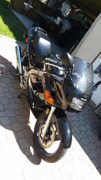 2007 Kawasaki Ninja 250 with 750kms