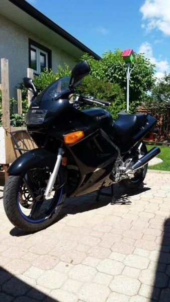 2007 Kawasaki Ninja 250 with 750kms