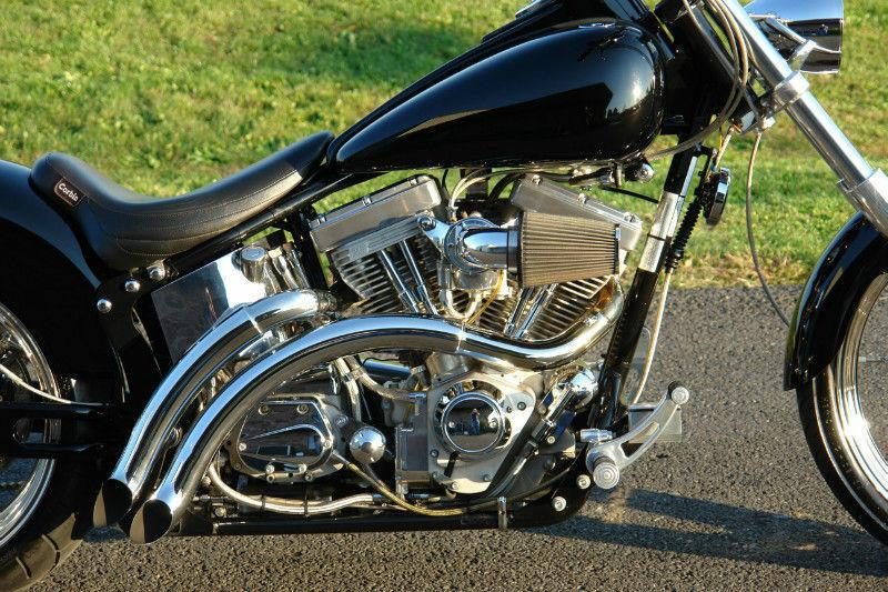 CUSTOM 2002 INDIAN SCOUT: SLAMMED WITH FAT TYRE CONVERSION