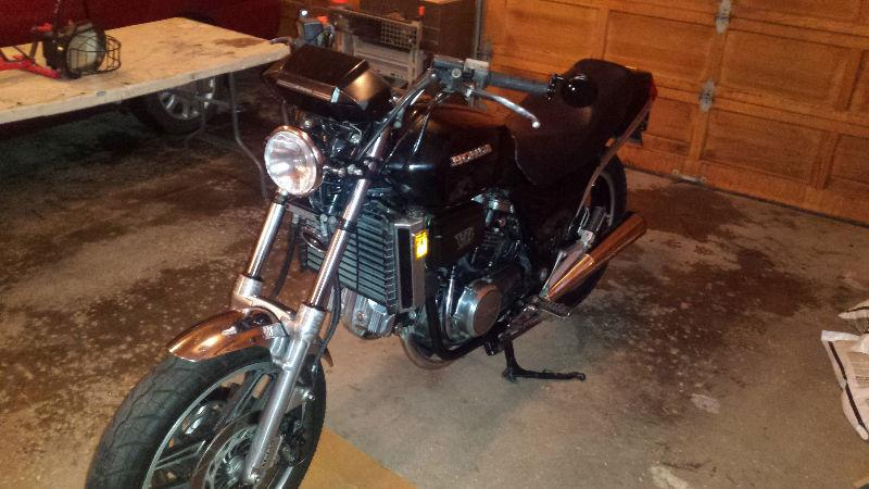 84 Honda Magna, custom light assembly