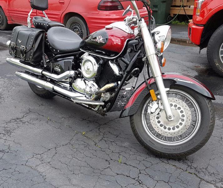 2002 Yamaha Vstar 1100 Classic