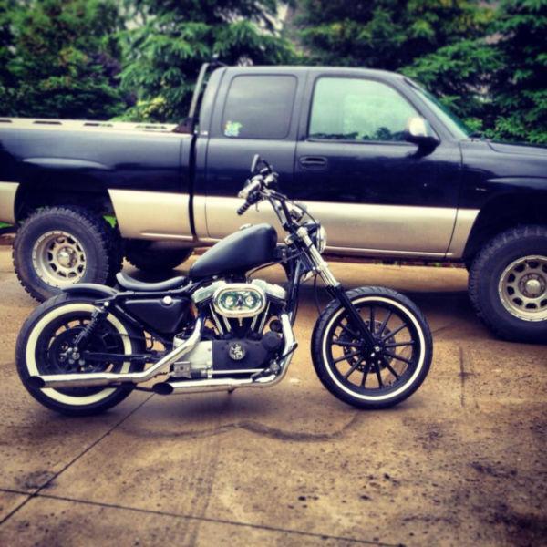 Custom Harley Bobber