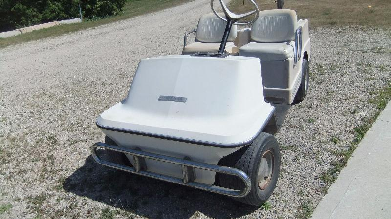 Harley Davidson golf cart