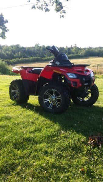2011 can am outlander