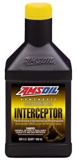 Running a 2 Stroke? - Get Amsoil Interceptor - Sleds/ATV