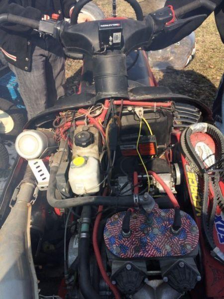 Modified 2000-2002 RMK 144 800 cc