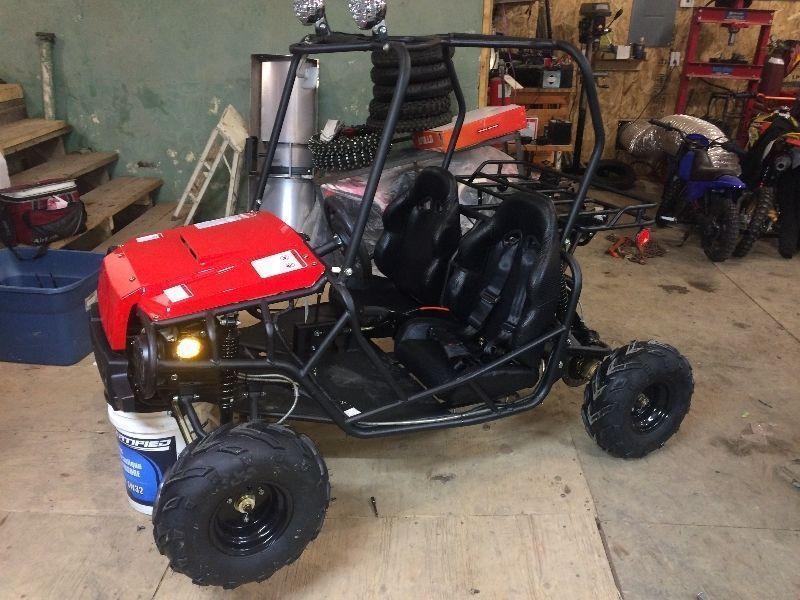 le dune boggy atk 125cc (les pros de la boue)