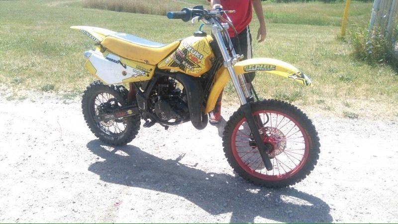 1993 Suzuki rm80