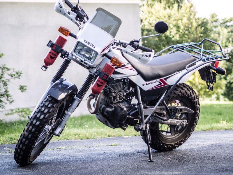 2011 Yamaha TW200 Motorcycle