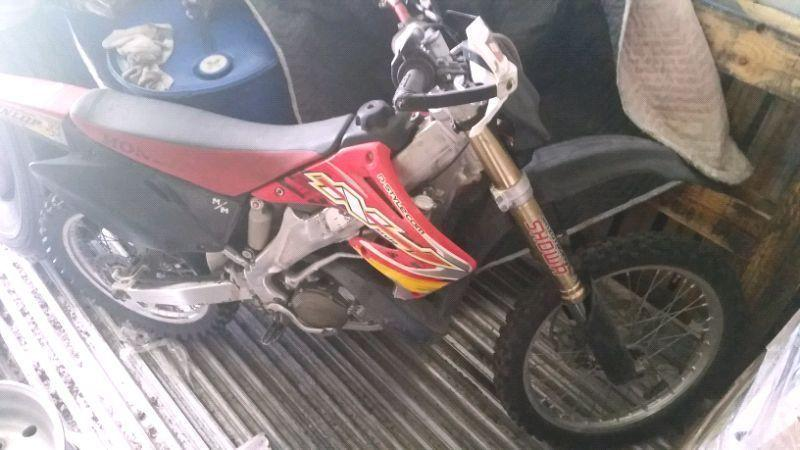2004 Honda CR250 Two Stroke