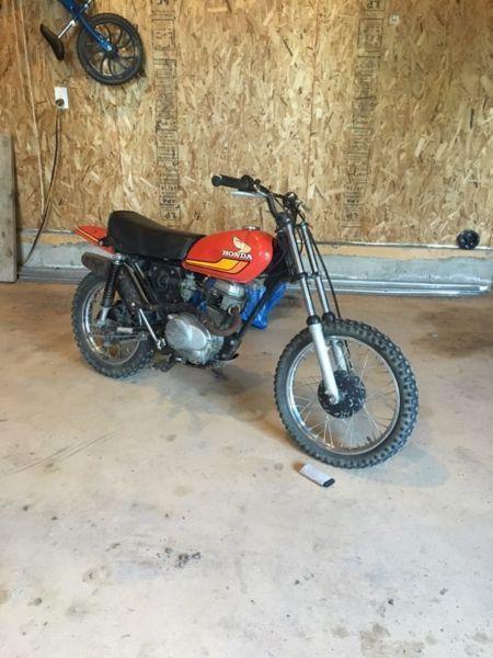 Old Honda 150