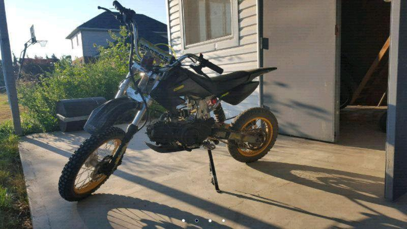 Pitster Pro 110cc Dirt Bike