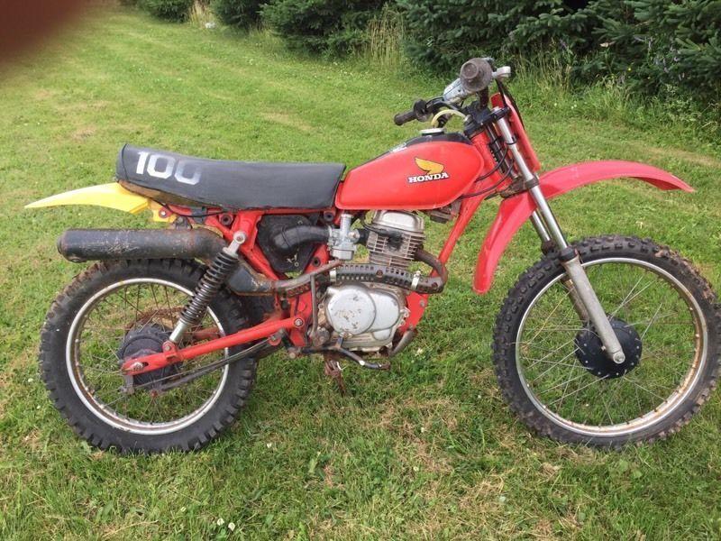 Wanted: 1982 Honda xr100