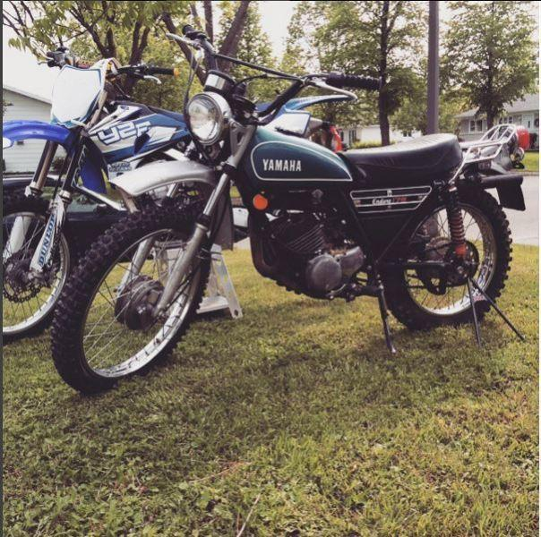 Yamaha enduro dt175 1974