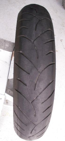 Pneu avant radial Dunlop Sport Max Road Smart 120/70ZR17