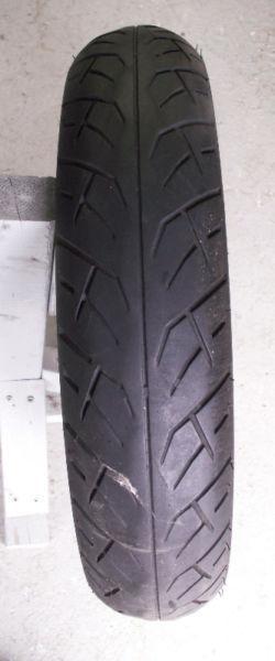 Pneu avant radial usagé Dunlop Sport Max D205 110/80ZR17