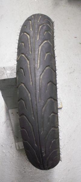 Pneu avant usagé Dunlop Arrow Max GT501f 110/80X17