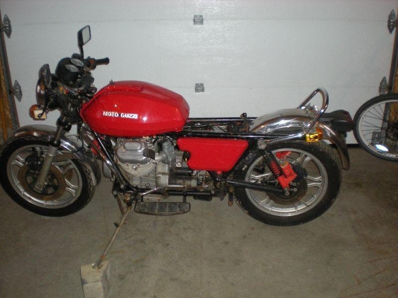 1981 Moto Guzzi Project Bike
