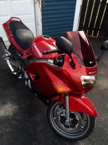 2000 Kawasaki zx6 e