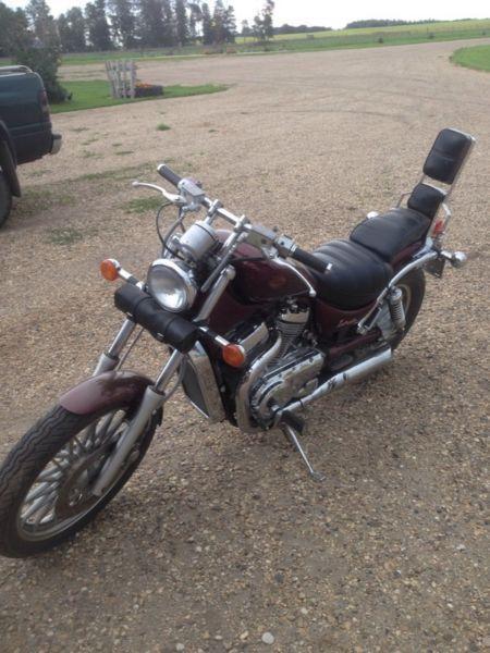 Suzuki-Intruder Seat - Brick7 Motorcycle
