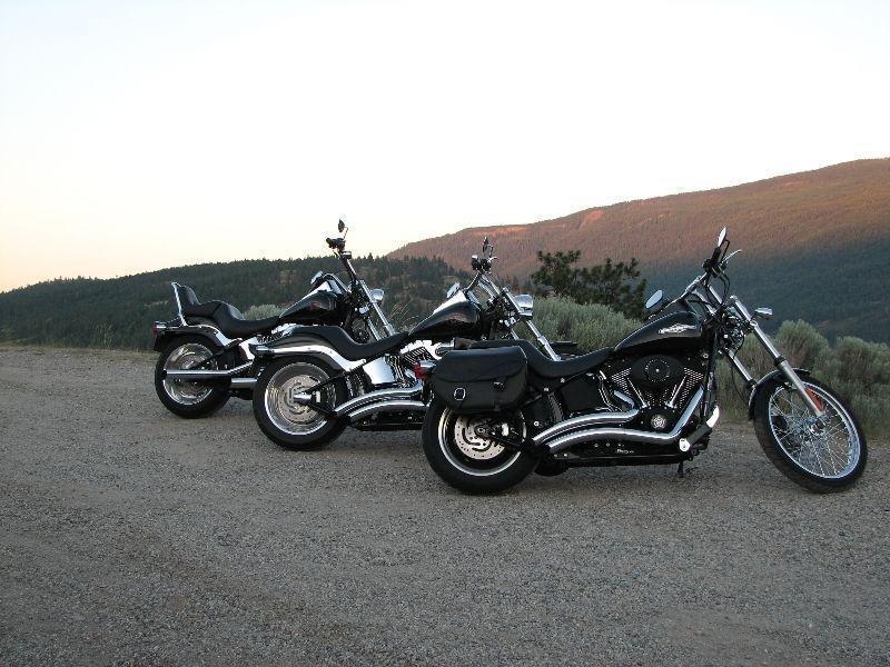 2009 Harley Davidson Softail Night Train FXSTB