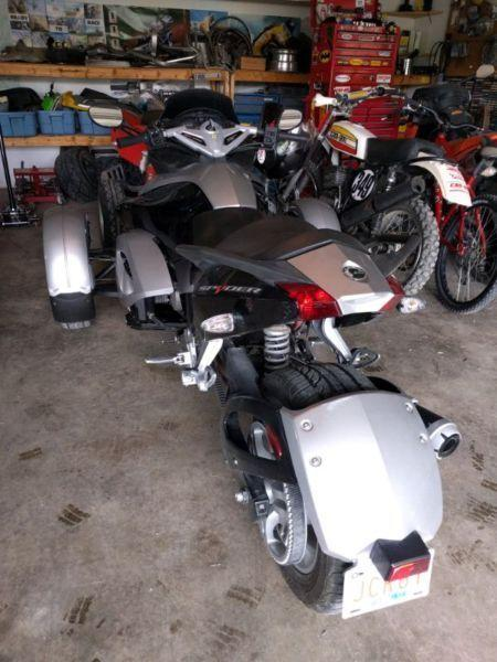 2008 Can-Am spyder trike