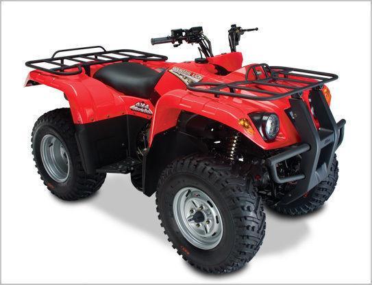 New Jianshe 400cc 4x4 ATV Quad Plastic Body Kit Green Camo